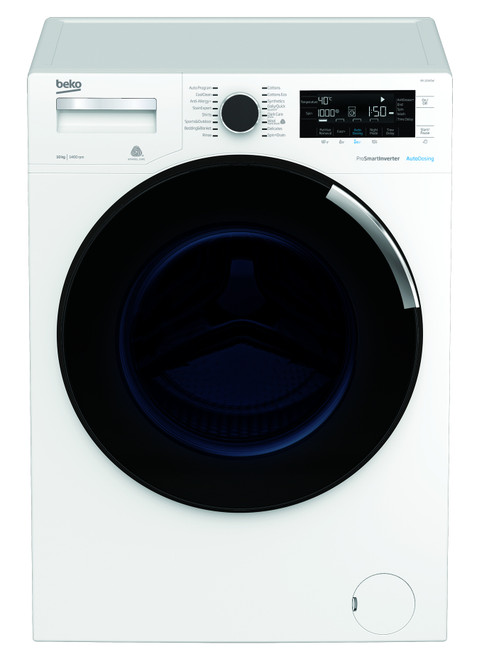 Beko 10kg Front Load Washing Machine - Steam function