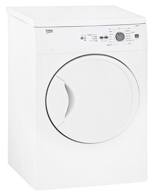 Beko 7 Kg Sensor Vented Dryer - Display Models Only