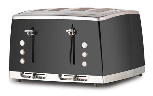 Russell Hobbs Lunar 4 Slice Toaster - Grey