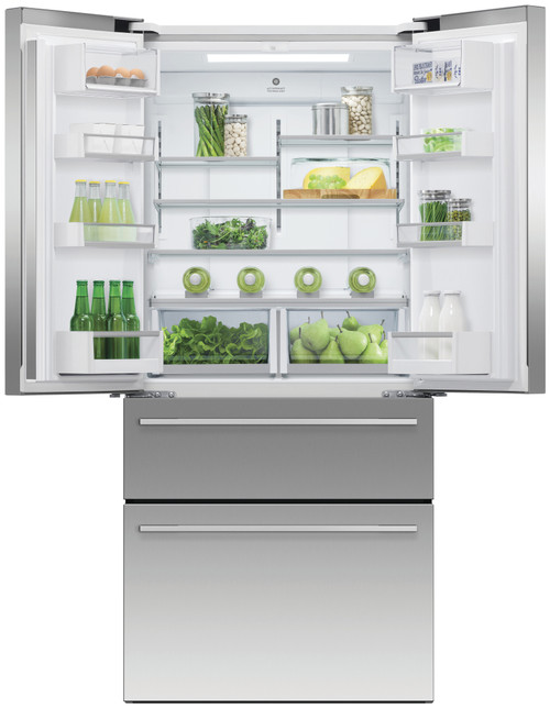Fisher & Paykel 523L French Door Fridge with Twin Freezer Drawers