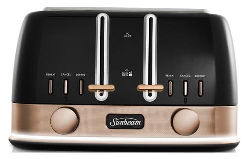 Sunbeam New York 4 Slice Toaster - TA4440KB