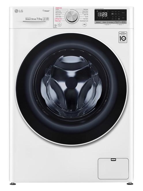 LG 7.5kg Front Load Washing Machine