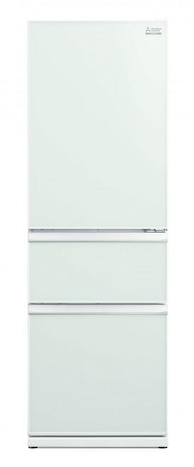 Mitsubishi Electric 370L Glass CX Two Drawer Refrigerator