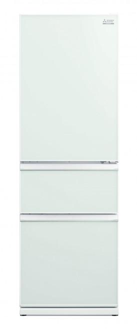 Mitsubishi Electric 402L Glass CX Two Drawer Refrigerator - MRCGX402EPLGWHA