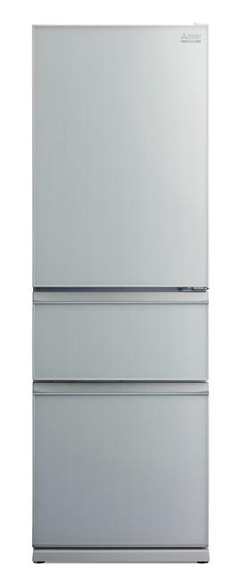 Mitsubishi Electric 402L Glass CX Two Drawer Refrigerator MRCGX402EPGSLA