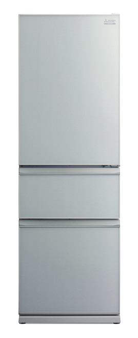 Mitsubishi Electric 402L Glass CX Two Drawer Refrigerator- MRCGX402EPLGSLA