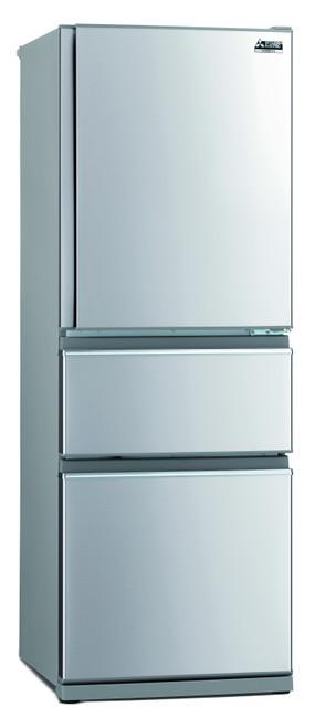 Mitsubishi Electric 370L Connoisseur Two Drawer Refrigerator- MR-CX370EJL-ST-A2