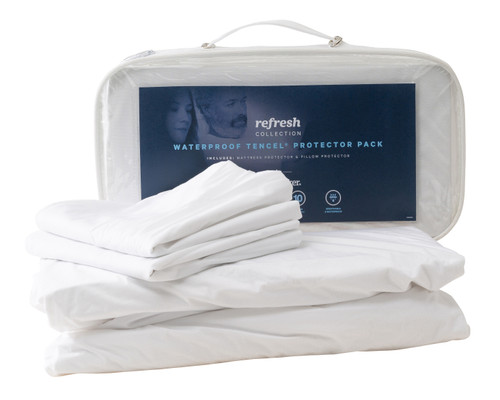 SleepMaker Mattress and Pillow Protector Set Queen-1579503919