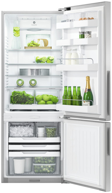 Fisher & Paykel 403L Ice & Water Bottom Mount Refrigerator