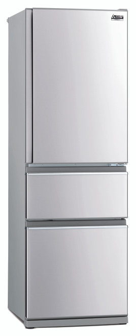 Mitsubishi 402 Litre Connoisseur Two Drawer LHH Refrigerator