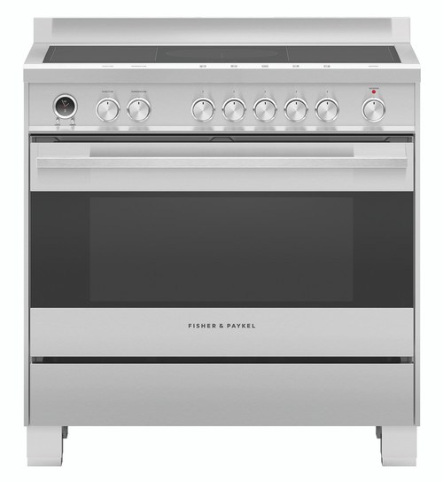 Fisher & Paykel Freestanding Oven with Induction Cooktop - OR90SDI6X1