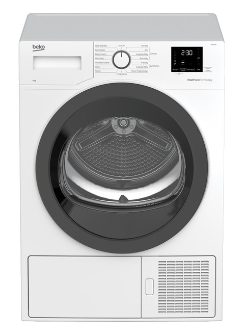 Beko 8kg Sensor Heat Pump Dryer - BDP810W