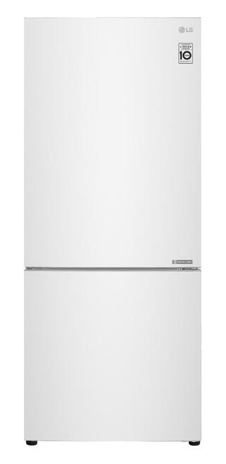 LG 454L Bottom Mount Refrigerator - White