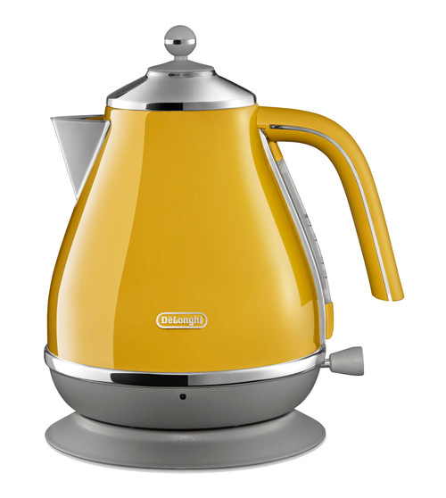 Delonghi Icona Capitals Kettle - New York Yellow