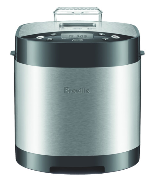 Breville The Bread Baker - Stainless Steel Breadmaker -