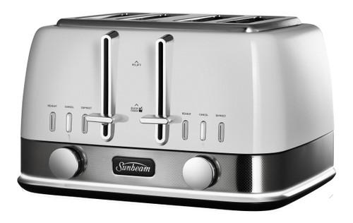 Sunbeam New York 4 Slice Toaster - TA4440WS