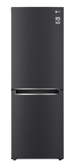 LG 335L Bottom Mount Refrigerator - Black Finish
