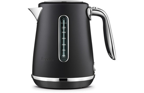 Breville Soft Top Luxe Kettle Black Truffle
