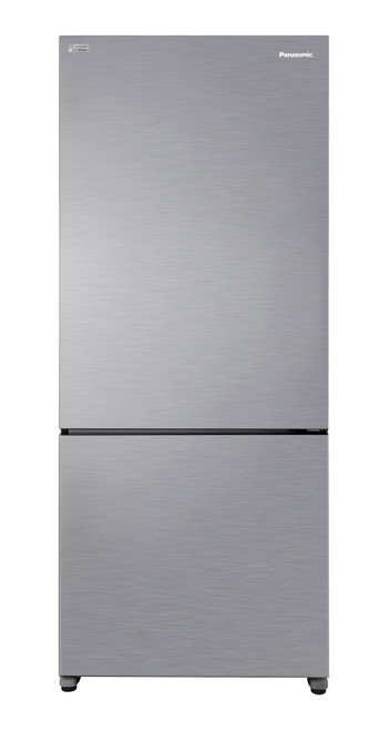 Panasonic 407L Stainless Steel Bottom Mount Refrigerator - NRBX41CQPAU