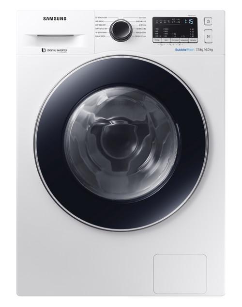 Samsung 7.5kg Front Load Washer 4kg Dryer Combo
