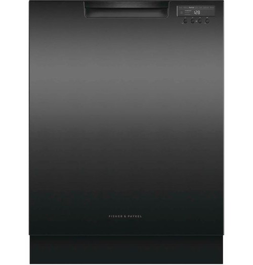 Fisher & Paykel 60cm Built Under Dishwasher - Black Finish