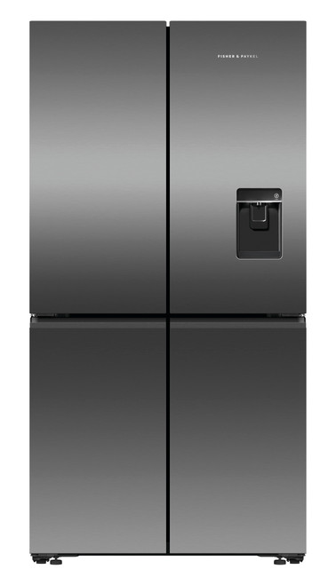 Fisher & Paykel 605L Quad Door Ice & Water Refrigerator - RF605QNUVB1