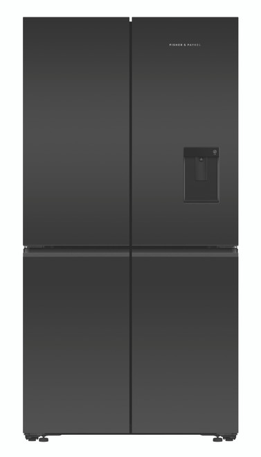 Fisher & Paykel 605L Quad Door Ice & Water Refrigerator - RF605QZUVB1