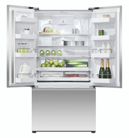 Fisher & Paykel 614L French Door Ice & Water Refrigerator - RF610ANUX5