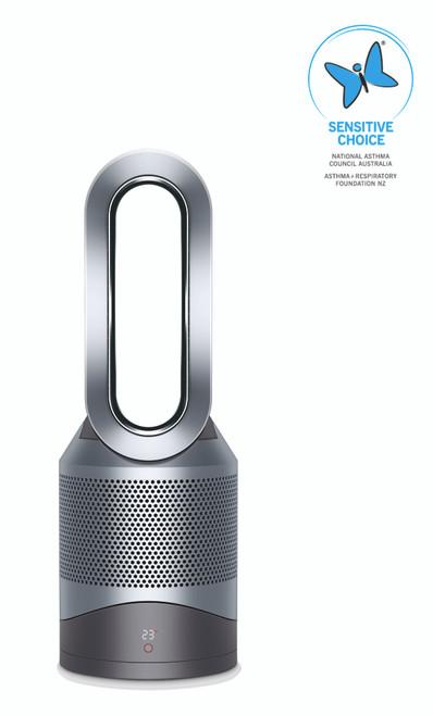 Dyson HP00 Pure Hot+Cool Fan Heater - White Silver
