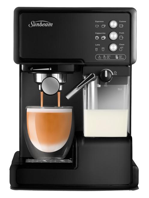 Sunbeam Cafe Barista Coffee Machine -  Black