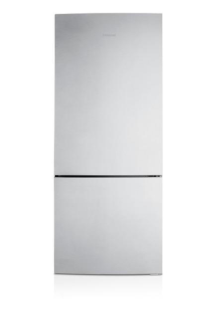 Samsung 450L Bottom Mount Fridge Freezer Stainless Steel
