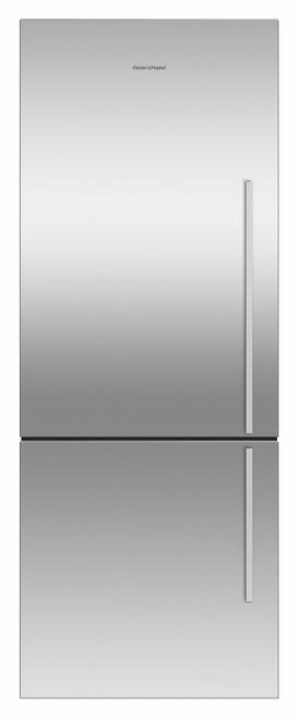 Fisher & Paykel 403L Bottom Mount Refrigerator Stainless Steel- RF402BLGX6