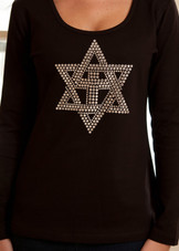 Star of David Premium Rhinestone