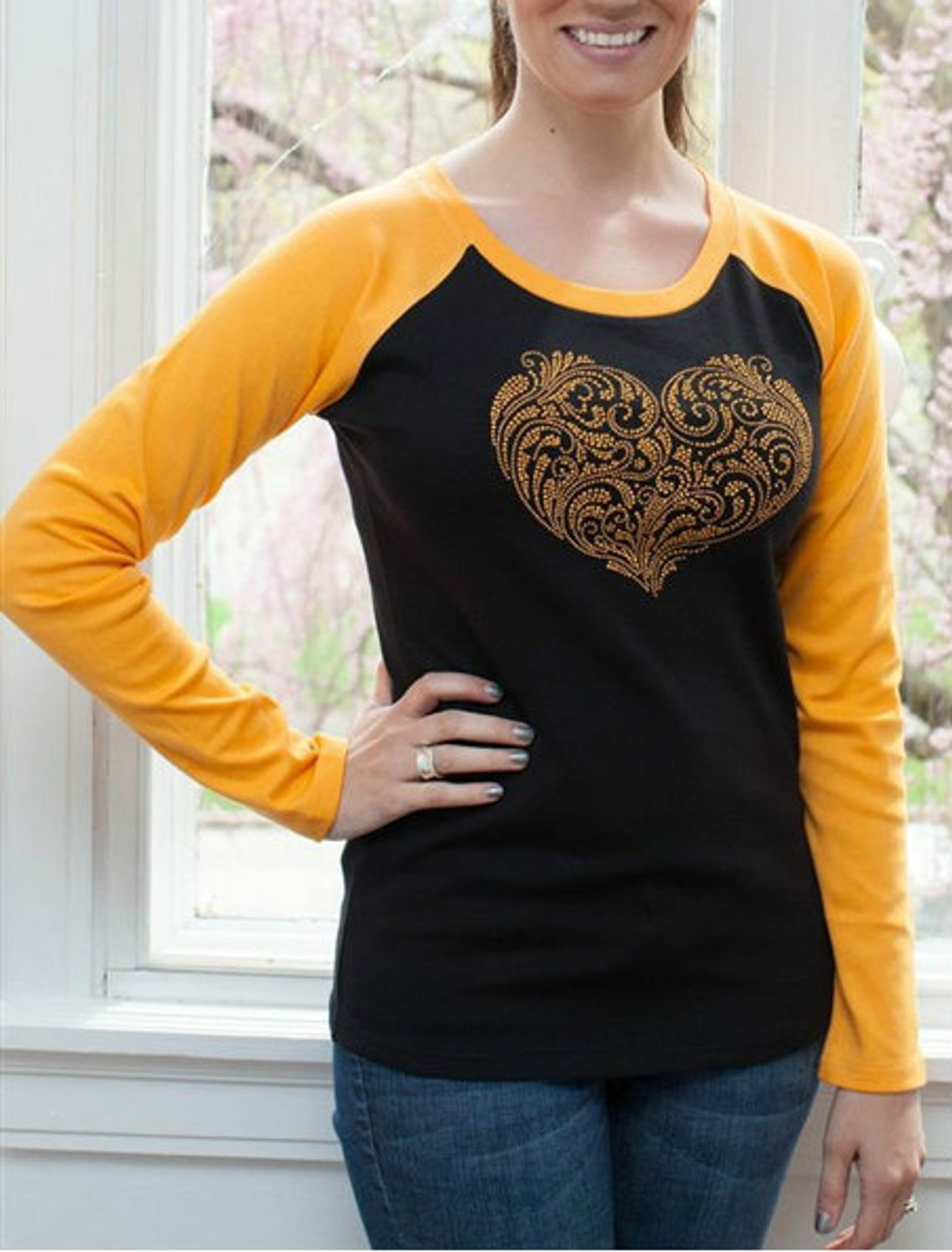 A Heart for Black and Gold - Contemporary Collection