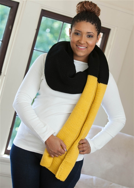 Cozy Winter Say No More Scarf
