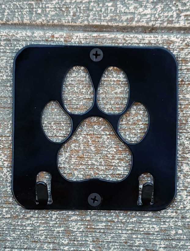 Paw Print Key Holder for the dog lover