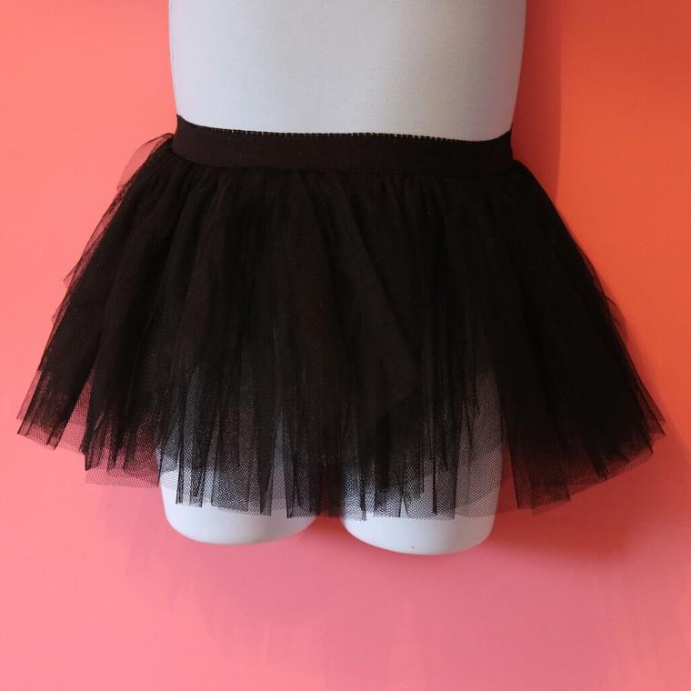 Capezio Childs Black Parfait Tutu Skirt 11166C