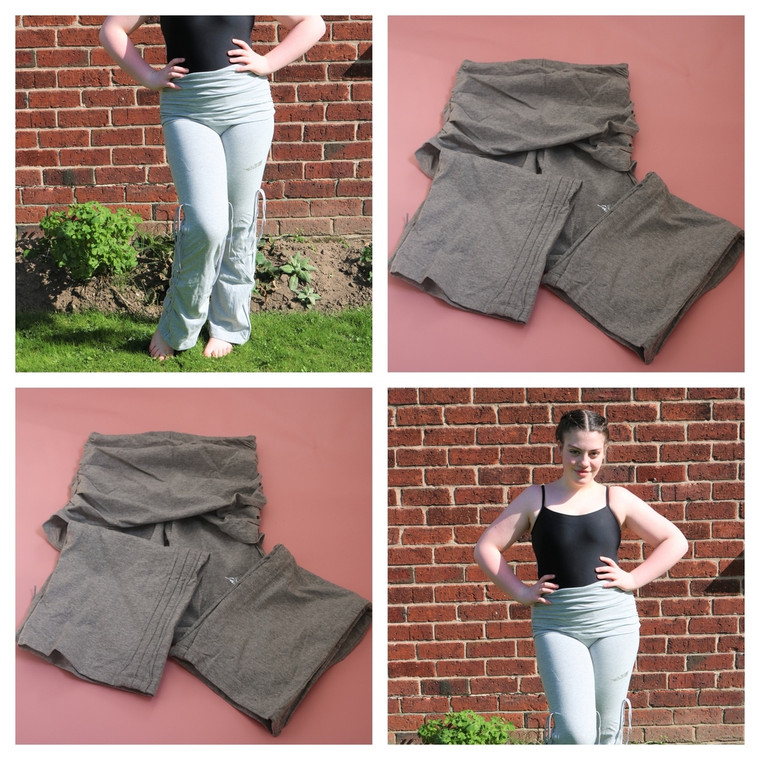 Plume Adult Urban Trousers / Pants In Grey