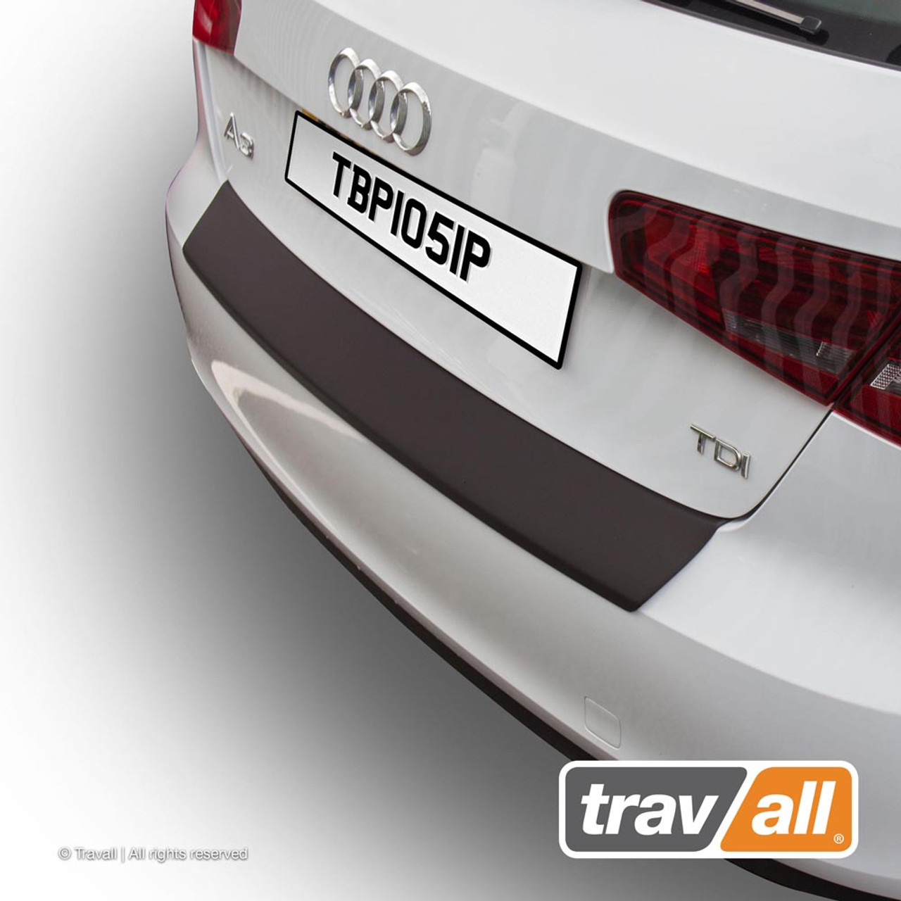 Bumper Protector for Audi A3 Sportback 2012 onwards Smooth Plastic