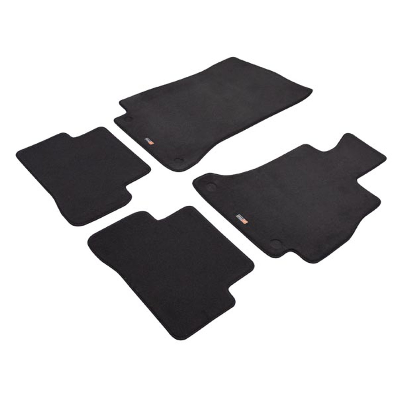Custom Made Carpet Car Mats For Mercedes-Benz C-Class 2018 onwards