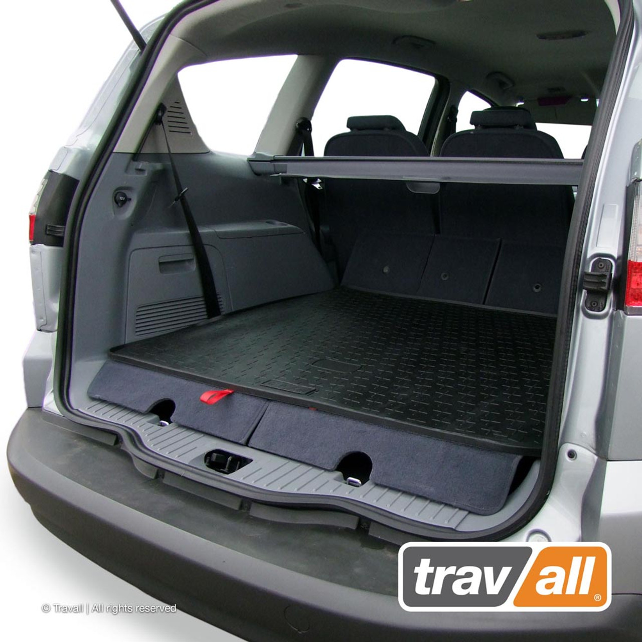 TBM1016 Travall Boot Mat for Ford S Max 2006 to 2015 (7 SEATER ONLY)