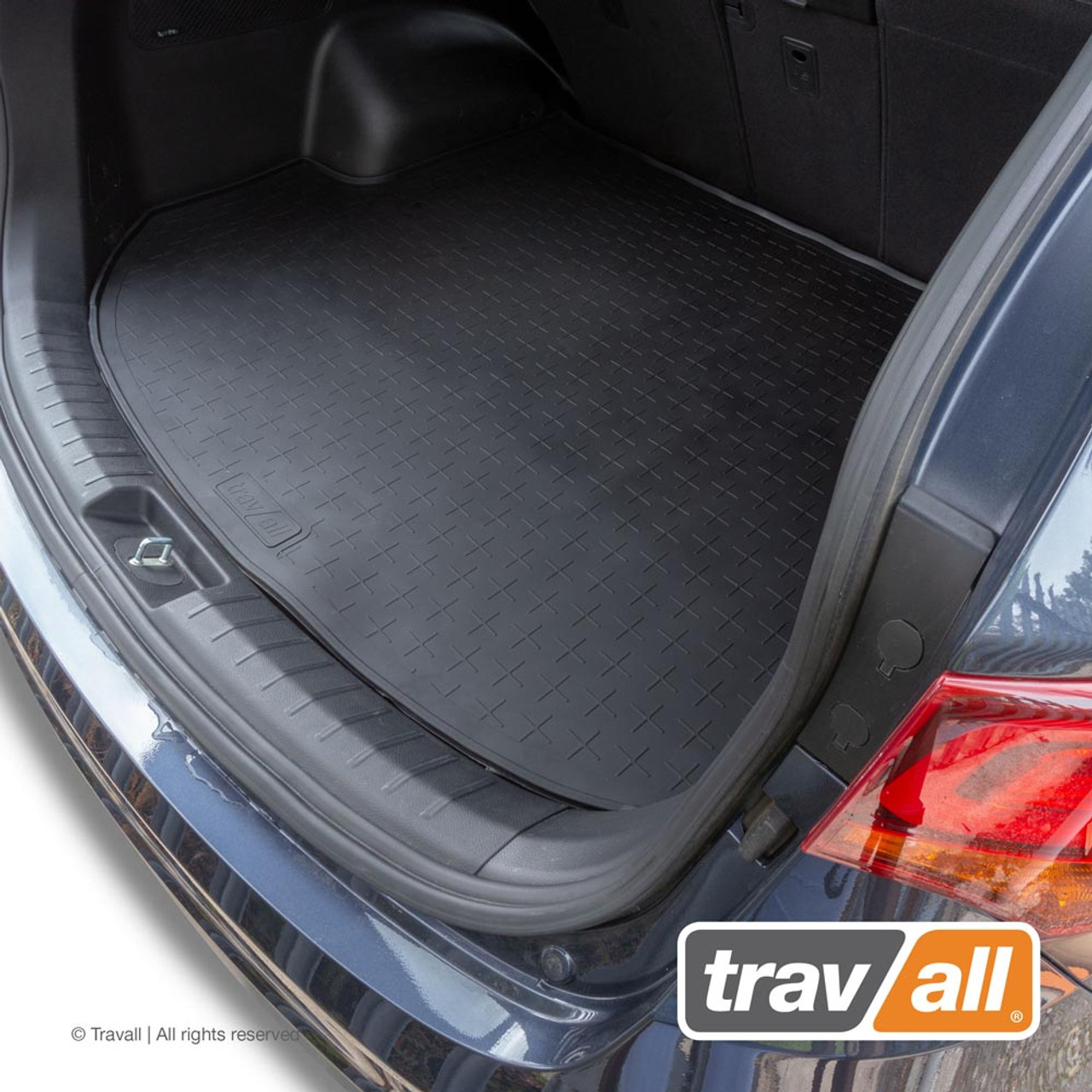 TBM1174 Travall Boot Mat for Hyundai Santa Fe 2012 to 2018