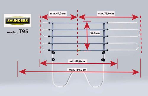 Saunders T95 Dog Guard For Porsche Cayenne 2003 - 2010