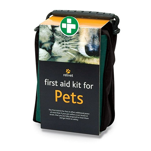 Relivet pet first aid kit