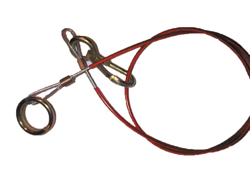 Split Ring Type Breakaway Cable for Caravans and Trailers