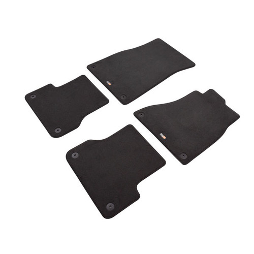 Custom Made Carpet Car Mats For Audi A6/S6 Saloon / Estate 2011 to 2018