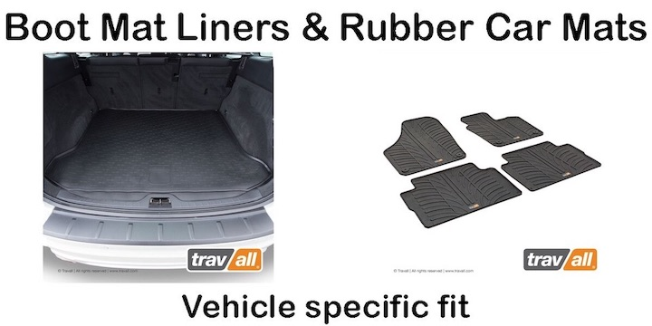 Travall boot mat liner and rubber car mats