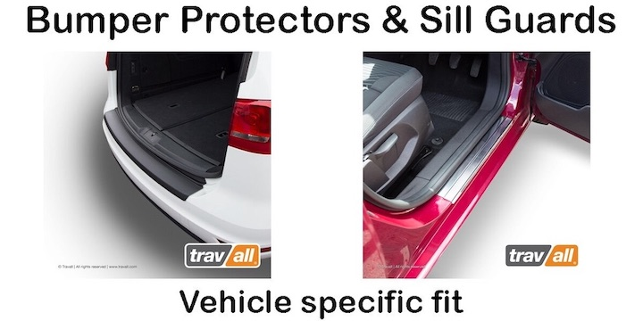 Bumper protectors and sill guards