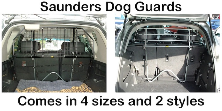 Saunders dog guards