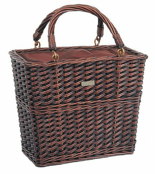 Wine Picnic Cooler Basket - Insulated Willow Cooler